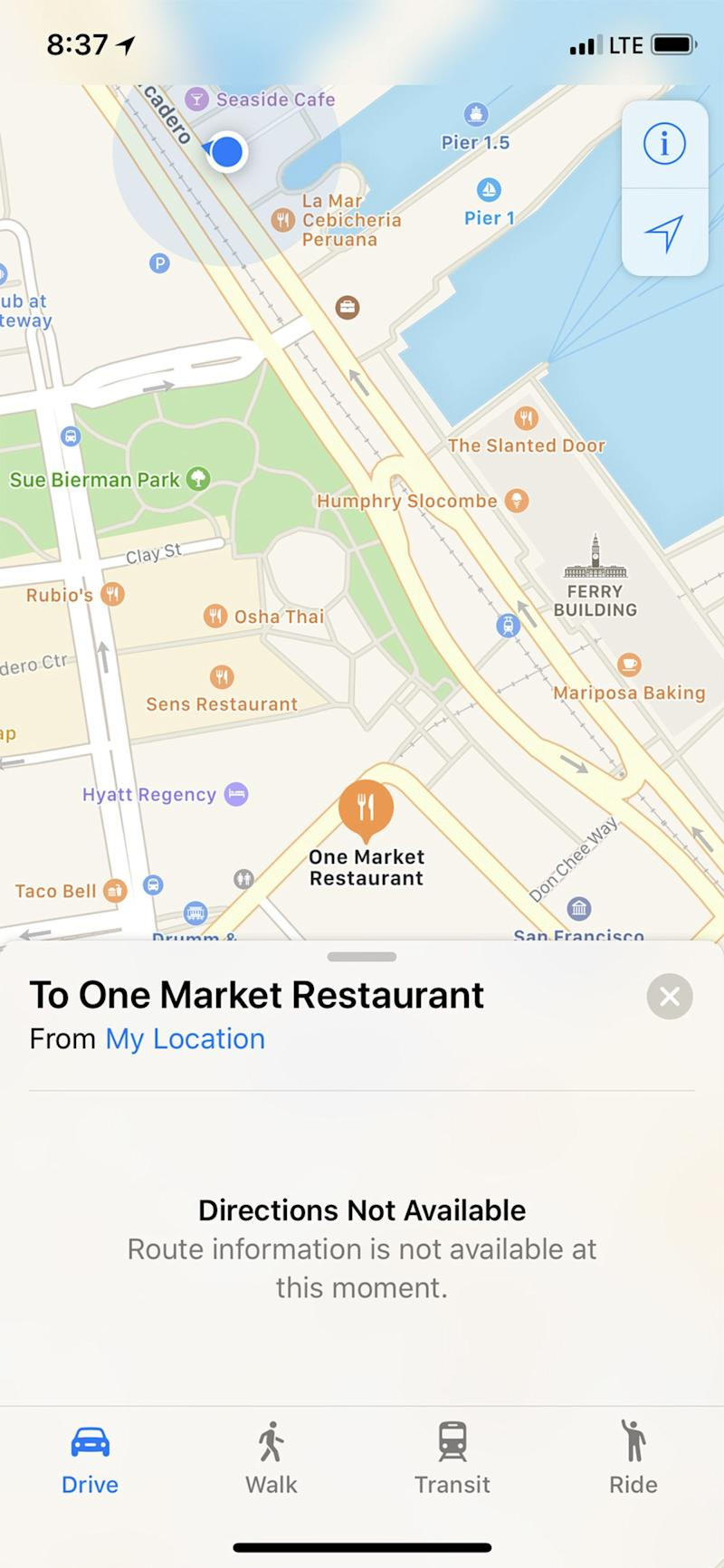 Apple Says Maps Navigation, Search Down for All Users