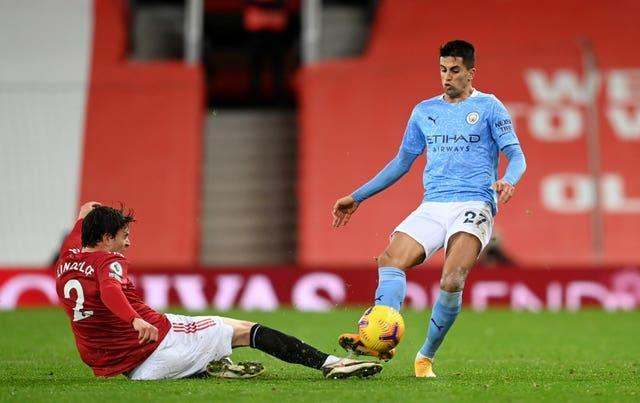 City and United played out a goalless draw in December