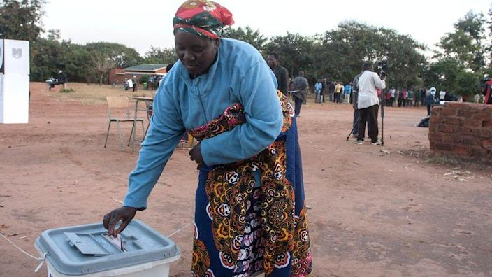 Voters are choosing between President Peter Mutharika and Lazarus Chakwera