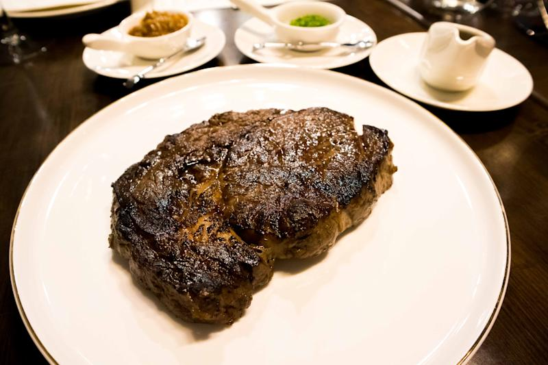 10-days butter-aged Angus Ribeye (PHOTO: Zat Astha/Yahoo Lifestyle Singapore)