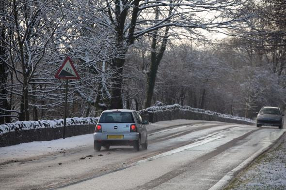 UK weather warning: Widespread risk of snow and ice