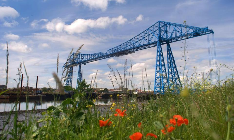 The Transporter Bridge, Middlesbrough.