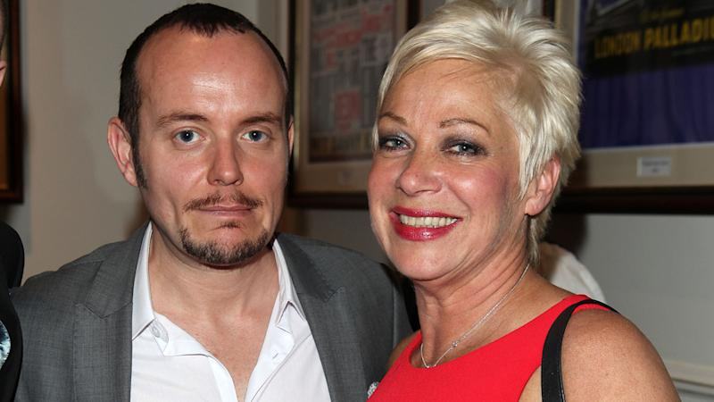 Lincoln Townley and Denise Welch attend an event in the early days of their relationship