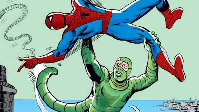 The Scorpion and Spidey have been battling since the 1960s. (Image: Marvel)