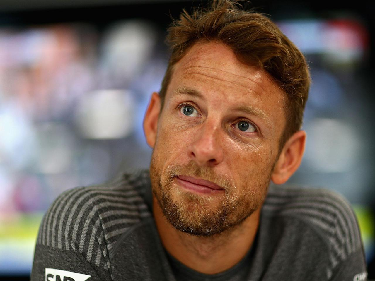 Jenson Button shows sombre and serious side as he prepares for F1 return on emotional weekend for motorsport