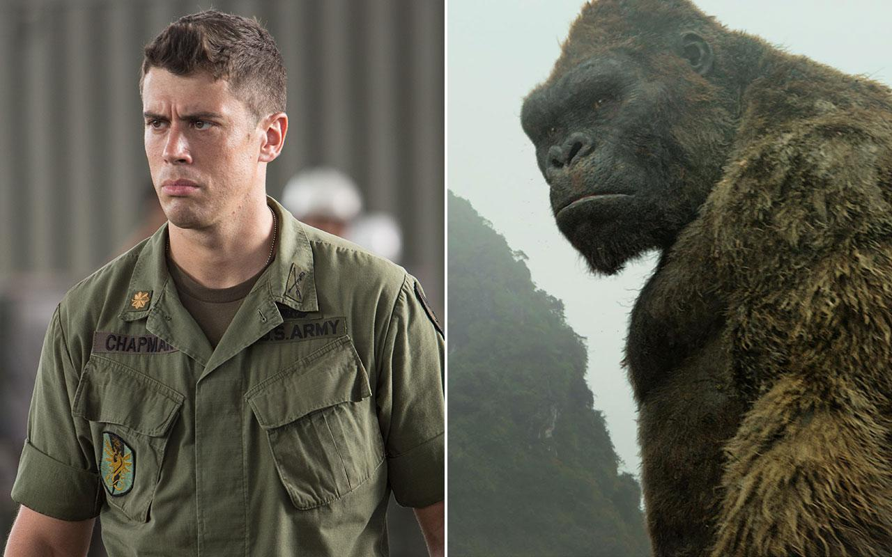 A family resemblance? Toby Kebbell plays Jack Chapman AND Kong (Warner Bros.)