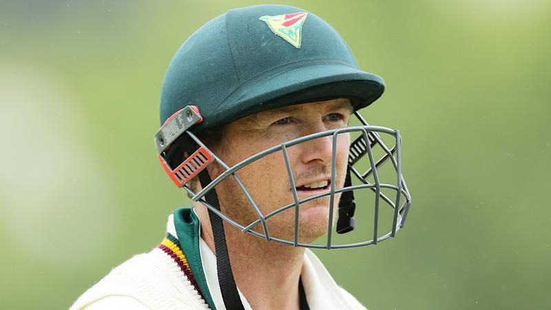 George Bailey, pictured playing for Tasmania, has been touted as a candidate to fill the vacant national selector seat.