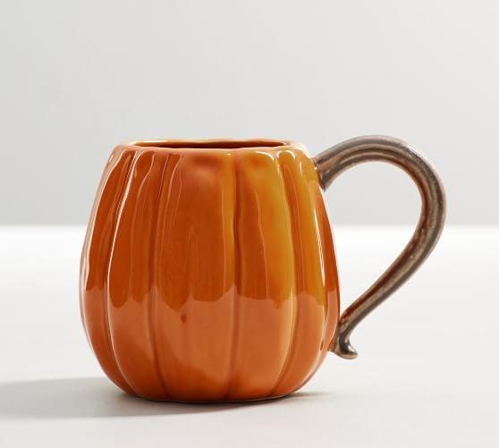<p>Add a festive touch to your morning coffee with this <span>Pumpkin Shaped Mug</span> ($7, originally $13).</p>