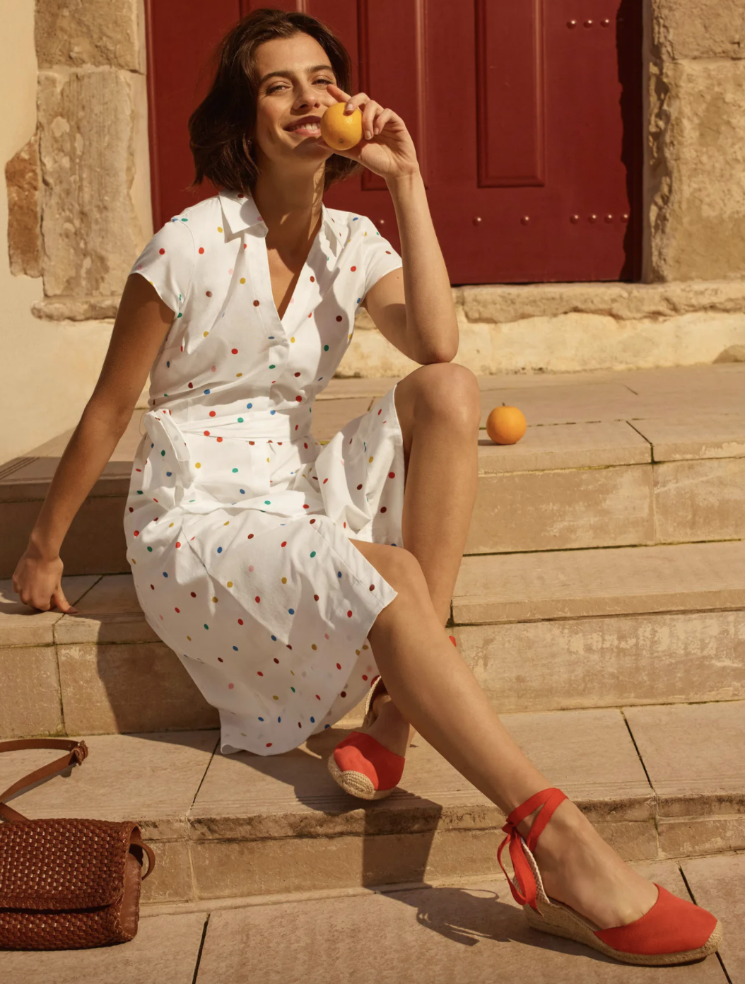 Boden's Rowena Shirt Dress has garnered glowing reviews from shoppers, who have bought this design in numerous colours.  (Boden)