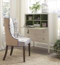 """<p><strong>Oomph Home</strong></p><p>oomphhome.com</p><p><strong>$2550.00</strong></p><p><a href=""""https://oomphhome.com/products/chelsea-desk-chair"""" rel=""""nofollow noopener"""" target=""""_blank"""" data-ylk=""""slk:Shop It"""" class=""""link rapid-noclick-resp"""">Shop It</a></p><p>Need something a little more customized? Oomph's chair has a natural raffia back, while the front upholstery can be changed to fit your needs.</p>"""