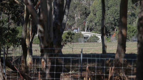 PHOTO: A property is seen from a police roadblock where police are investigating the death of seven people in a suspected murder-suicide in Osmington, east of Margaret River in Australia, May 11, 2018. (Richard Wainwright/AAP Image via AP)