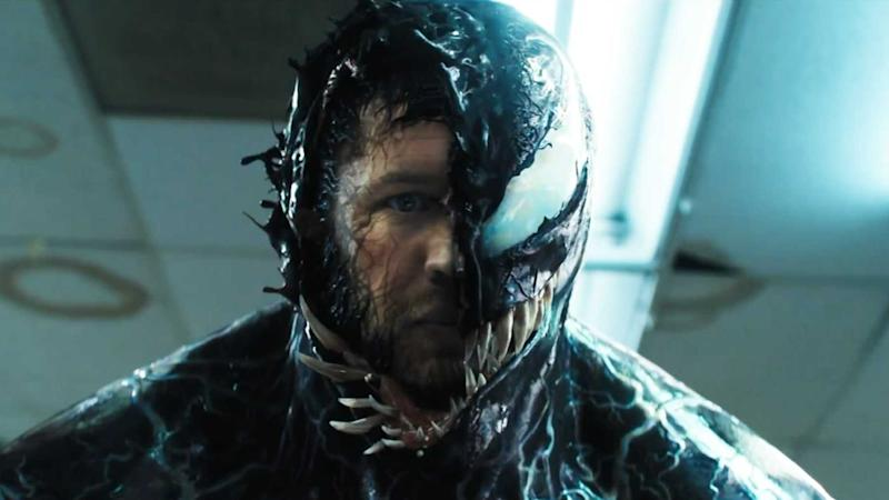 Tom Hardy in Venom (Credit: Sony)