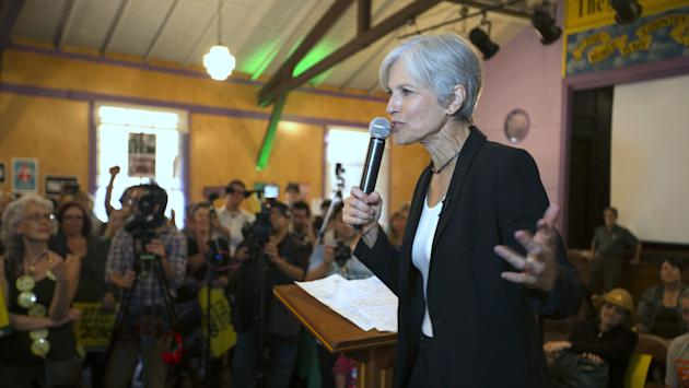Green Party's Jill Stein files for Wisconsin recount, audit