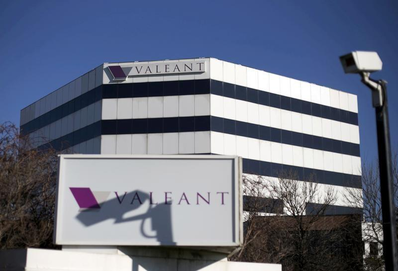 File photo of the headquarters of Valeant Pharmaceuticals International Inc in Laval
