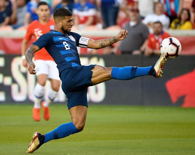 DeAndre Yedlin's versatility on the right side will be key for the United States going forward. (Associated Press)