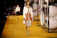 A model walks the Burberry SS20 catwalk. [Photo: Getty Images]