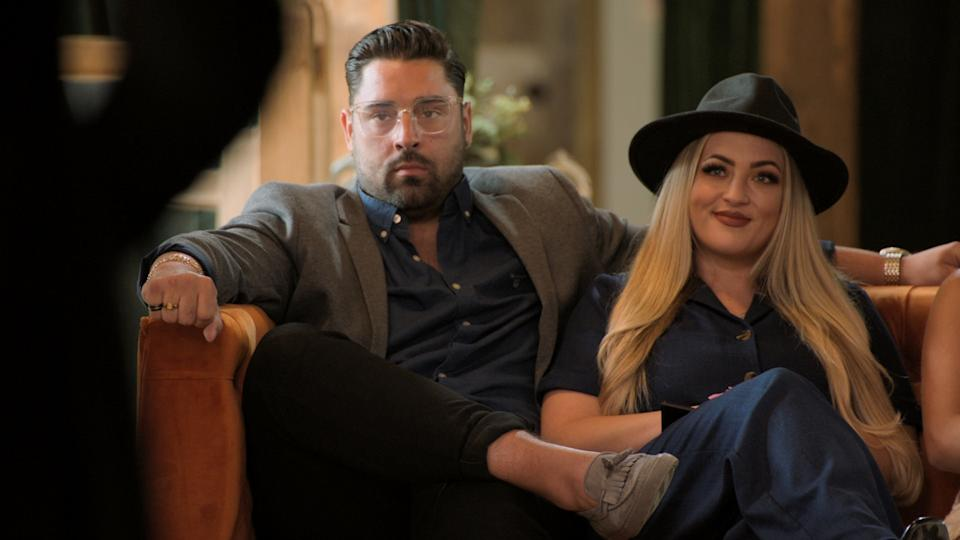 Bob Voysey and Megan Wolfe, 'Married At First Sight UK' (E4)