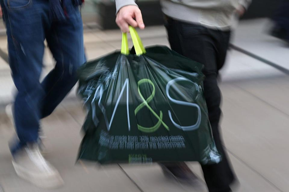 <p>M&S is led by Steve Rowe</p> (Oli Scarff/Getty Images)