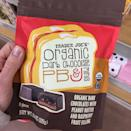 """<p>This classic sandwich combination is getting a chocolatey makeover. Trader Joe's has Organic Dark Chocolate PB&J Minis. The dark chocolate treat is filled with peanut butter and raspberry fruit filling. You can get a bag of <a href=""""https://www.instagram.com/p/Bu-RGrOluAw/"""" rel=""""nofollow noopener"""" target=""""_blank"""" data-ylk=""""slk:eight pieces for $2.99"""" class=""""link rapid-noclick-resp"""">eight pieces for $2.99</a>.</p>"""