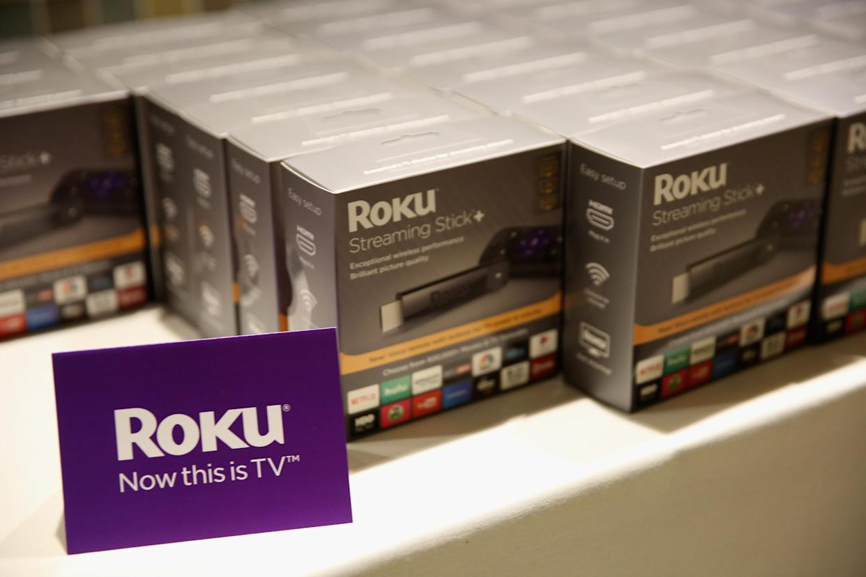 NEW YORK, NY - NOVEMBER 29: A view of Roku at IGNITION: Future of Media at Time Warner Center on November 29, 2017 in New York City. (Photo by Monica Schipper/Getty Images)