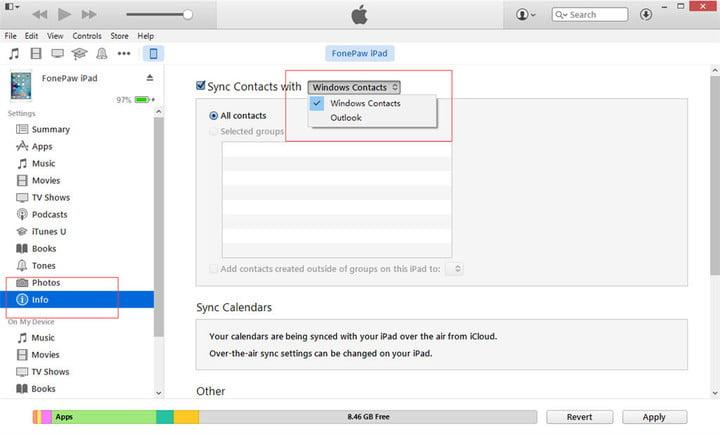 sync outlook contacts with iphone how to sync your outlook calendar with an iphone 18059