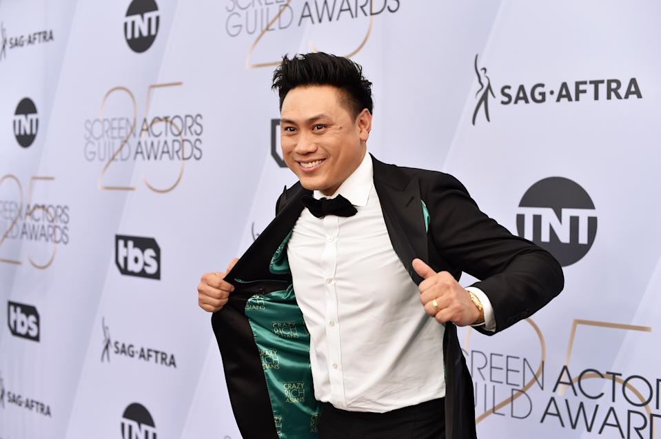 LOS ANGELES, CA - JANUARY 27:  Jon M. Chu attends the 25th Annual Screen ActorsGuild Awards at The Shrine Auditorium on January 27, 2019 in Los Angeles, California.  (Photo by John Shearer/Getty Images for People Magazine)