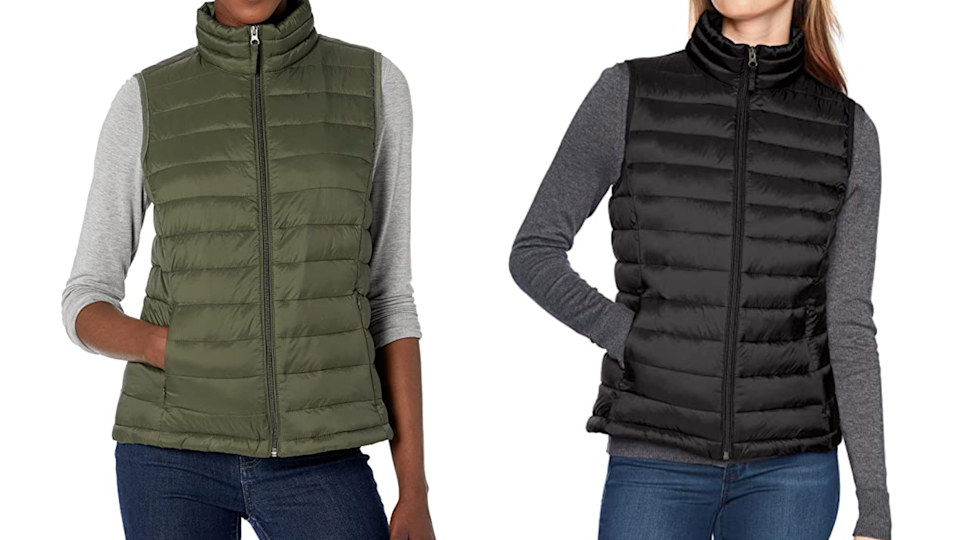 This vest will pair with almost anything in your closet.