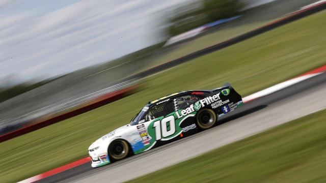 AJ Allmendinger gives it everything he has in Xfinity race at Mid-Ohio