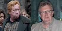 """<p><strong>First Film: </strong><em>Harry Potter and the Chamber of Secrets</em></p><p><strong>Character Played: </strong>Arthur Weasley</p><p><strong>Age: </strong>60</p><p>Willams currently stars on <a href=""""https://www.amazon.com/gp/video/detail/amzn1.dv.gti.0ab6180a-c303-dfdd-76ab-9d46326552eb?autoplay=1"""" rel=""""nofollow noopener"""" target=""""_blank"""" data-ylk=""""slk:British drama series"""" class=""""link rapid-noclick-resp"""">British drama series </a><em><a href=""""https://www.amazon.com/gp/video/detail/amzn1.dv.gti.0ab6180a-c303-dfdd-76ab-9d46326552eb?autoplay=1"""" rel=""""nofollow noopener"""" target=""""_blank"""" data-ylk=""""slk:Father Brown"""" class=""""link rapid-noclick-resp"""">Father Brown</a></em> as a World War 11-era priest solving his town's crimes.</p>"""
