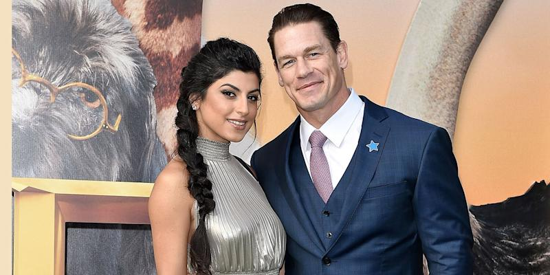 John Cena marries girlfriend Shay Shariatzadeh in a private ceremony