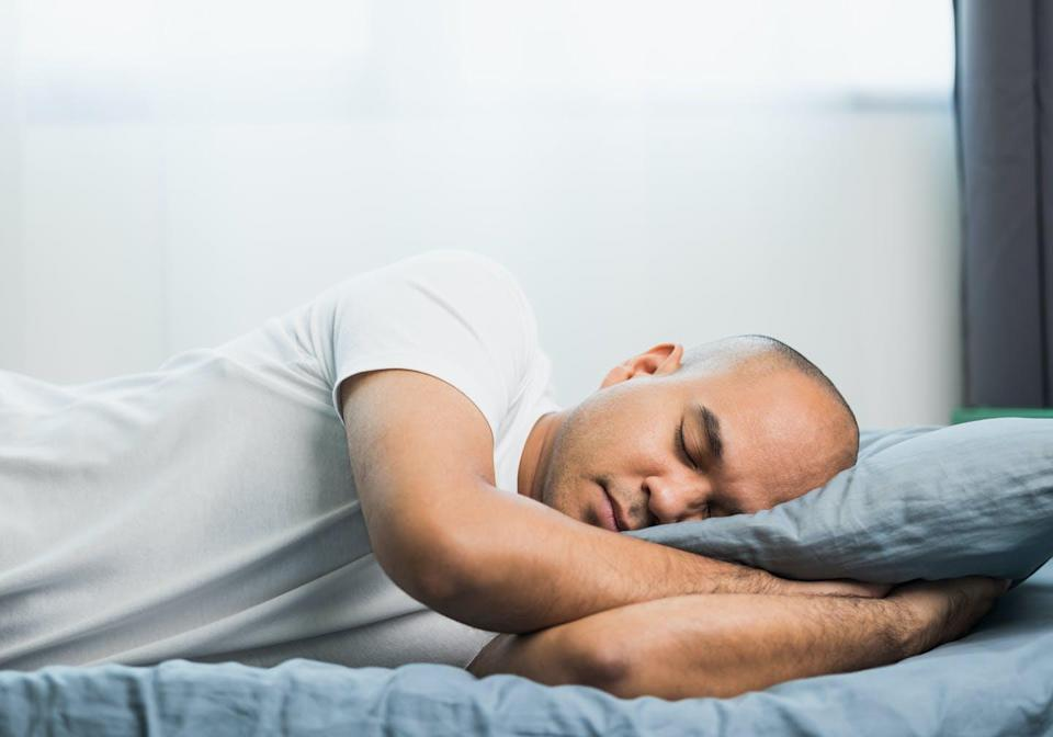 """<span class=""""caption"""">Obstructive sleep apnea is a common sleep disorder that often goes undiagnosed and untreated.</span> <span class=""""attribution""""><span class=""""source"""">(Shutterstock)</span></span>"""