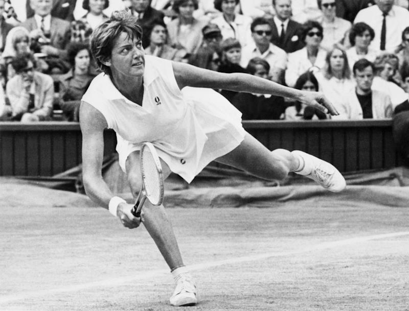 Australian tennis player Margaret Court