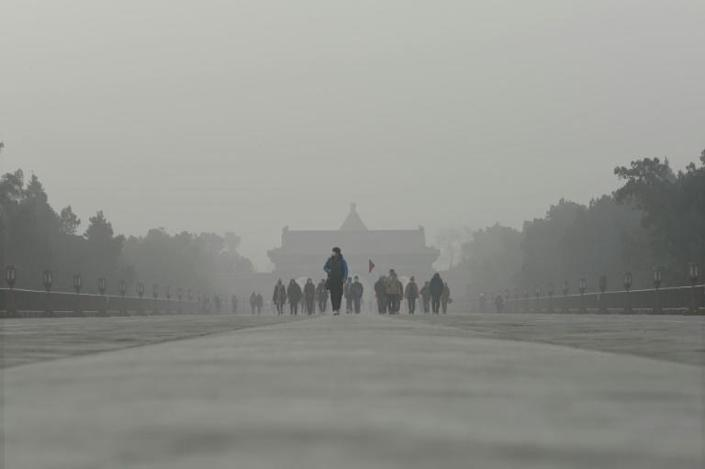Compared to other causes of premature death, air pollution worldwide kills 19 times more people each year than malaria (AFP Photo/WANG ZHAO)