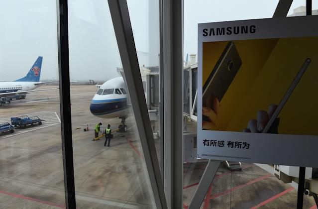 To prevent devices from exploding aboard flights and in airports