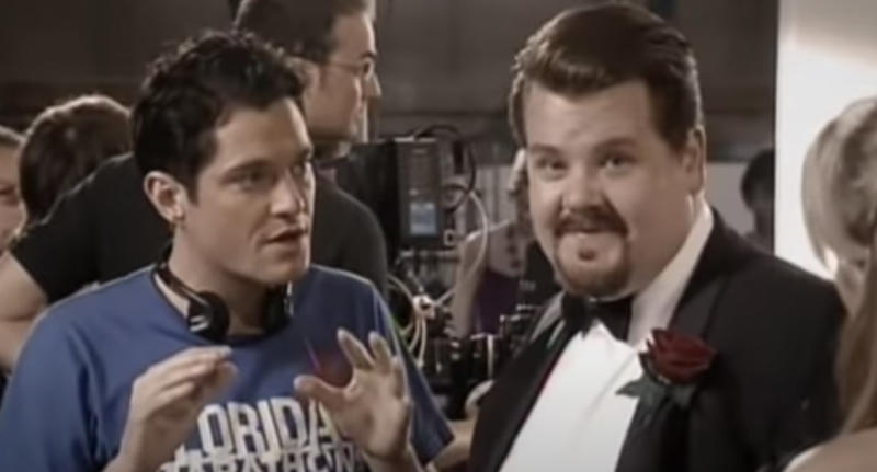 Matthew Horne and James Corden in a 'Horne and Corden' sketch. (BBC)