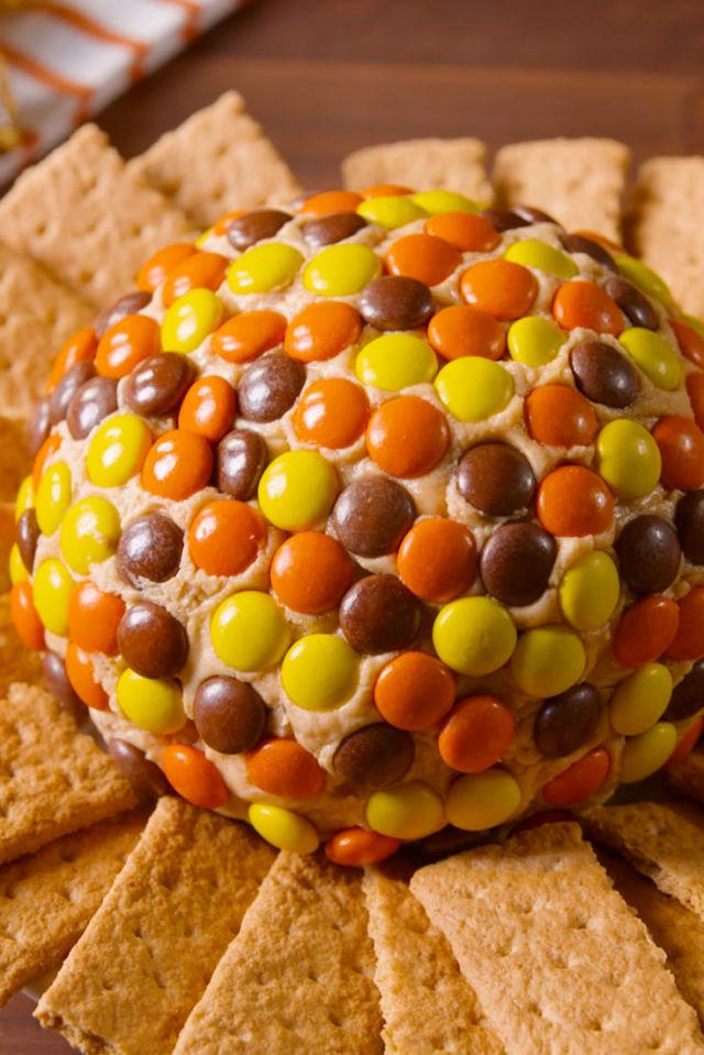 """<p>This is the best your kids favorite candy has ever looked.</p><p>Get the recipe from <a rel=""""nofollow"""" href=""""http://www.delish.com/cooking/recipe-ideas/recipes/a49613/reeses-peanut-butter-ball-recipe/"""">Delish</a>.</p>"""