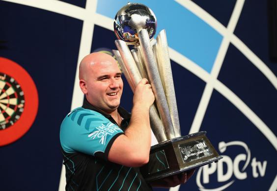 Rob Cross won the 2018 World Championship and will be a contender again this year (Getty)