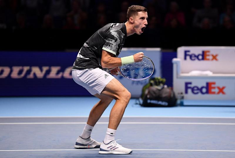 Joe is one of the world's top doubles players(Getty Images)