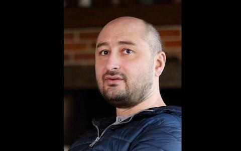 Arkady Babchenko served in and reported from several of Russia's modern wars, and became a bitter critic of the Kremlin's military entanglements - Credit:  Vitaliy Nosach/AP