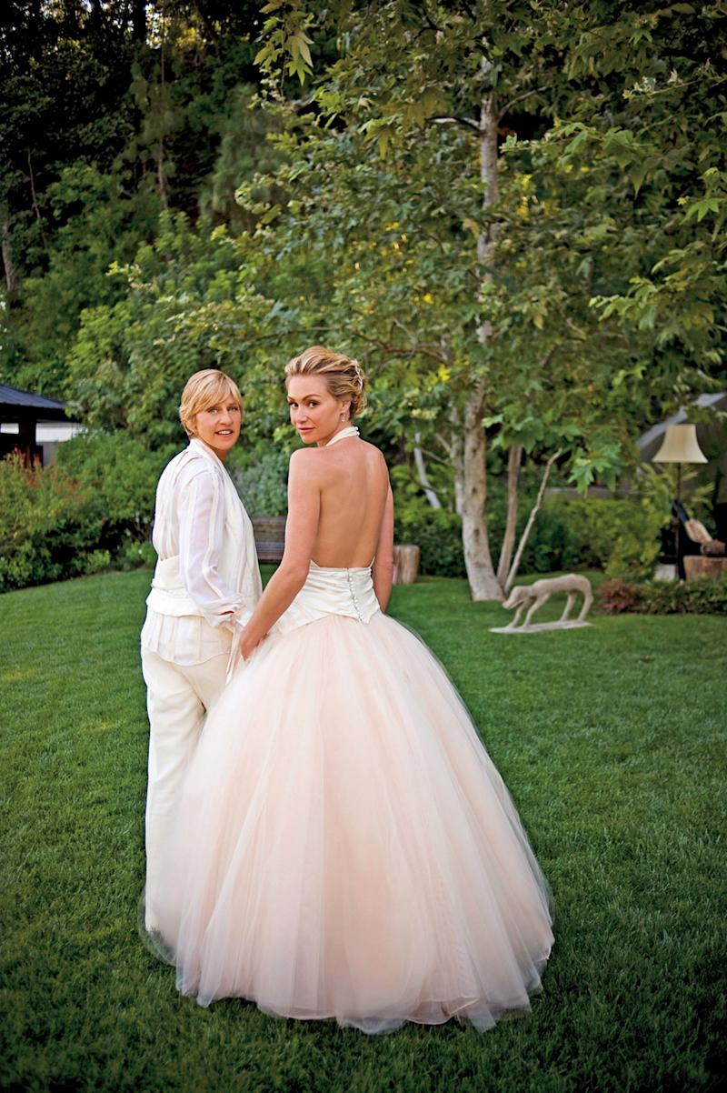 The Story Behind Ellen Degeneres and Portia De Rossi's Wedding Rings