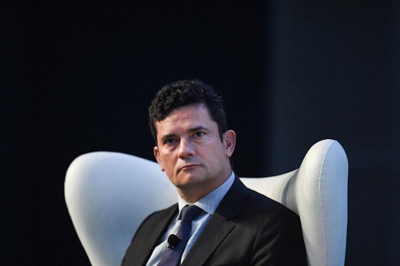"Brazilian anti-corruption judge Sergio Moro is leading the charge in Operation ""Car Wash"" -- and putting politicians and business executives in jail (AFP Photo/PATRICIA DE MELO MOREIRA)"