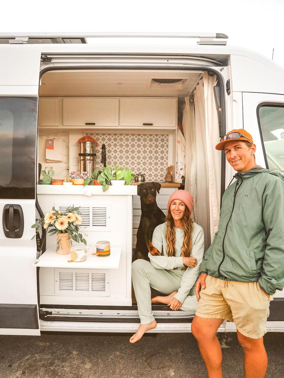 TikTok stars Courtnie Hamel and Nate Cotton (@courtandnate) have amassed 1.6 million followers by documenting their van life journey over the past year and a half.