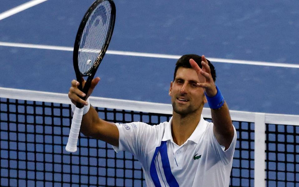 Djokovic beat eighth seed Roberto Bautista Agut in three hours and one minute, the longest match of the tournament - Shutterstock