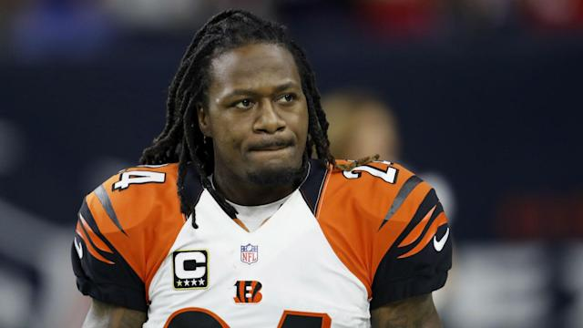 "Adam ""Pacman"" Jones injured his groin during Monday's game against the Steelers."