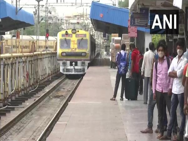 MMTS services resumed in Hyderabad (Photo/ANI)