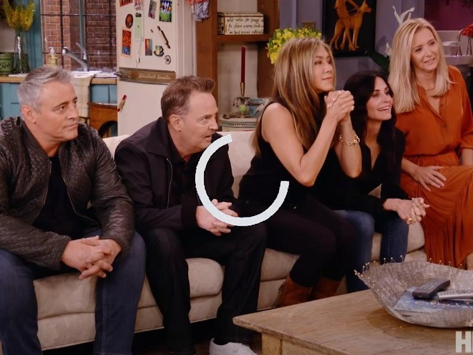 <p>Free streams of the Friends Reunion spread illegally online following the official broadcast</p> (HBO)