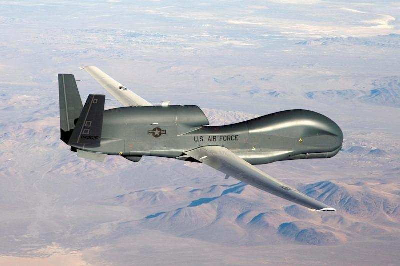 Escalating confrontation: this week Iran shot down a US Global Hawk drone (Reuters )