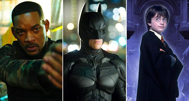 <em>Bad Boys For Life, The Dark Knight, Harry Potter and the Philosopher's Stone</em> are all coming to showcase for a fiver. (Sony/WB)
