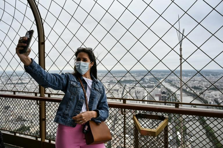 The Eiffel Tower reopened in mid-July after a nine-month hiatus due to the pandemic
