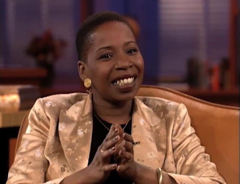 "<i><strong>Iyanla Vanzant</strong></i><br />""Most of us have a death urge. We see the guy coming, warning slapped right in the middle of his head. And we said, 'Oh, I'm going to fix him. I'm going to change it. I'm going to reshape it,'"" Iyanla Vanzant said in 1998. ""Love doesn't have to fix you, change you. When you see crazy coming, cross the street. Cross the street!"""